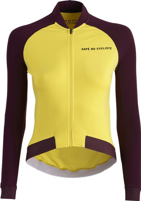 Café Du Cycliste Women's Daphne Jersey - Yellow